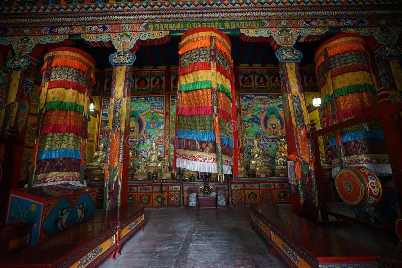 Tibet. Temples lama seda sichuan china stock photography