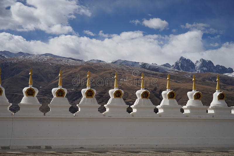 Tibet. Temples lama seda sichuan china royalty free stock photography