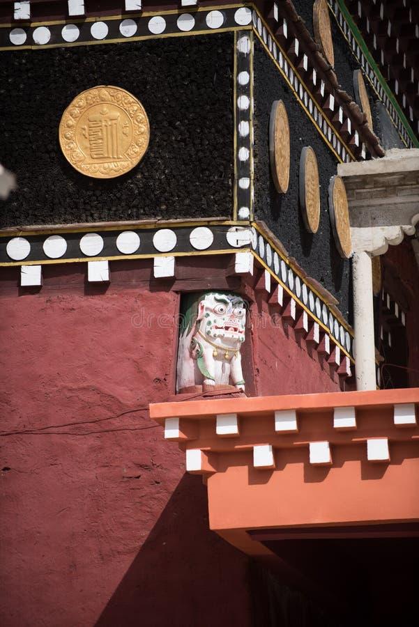 Tibet. Temples lama seda sichuan china royalty free stock photo