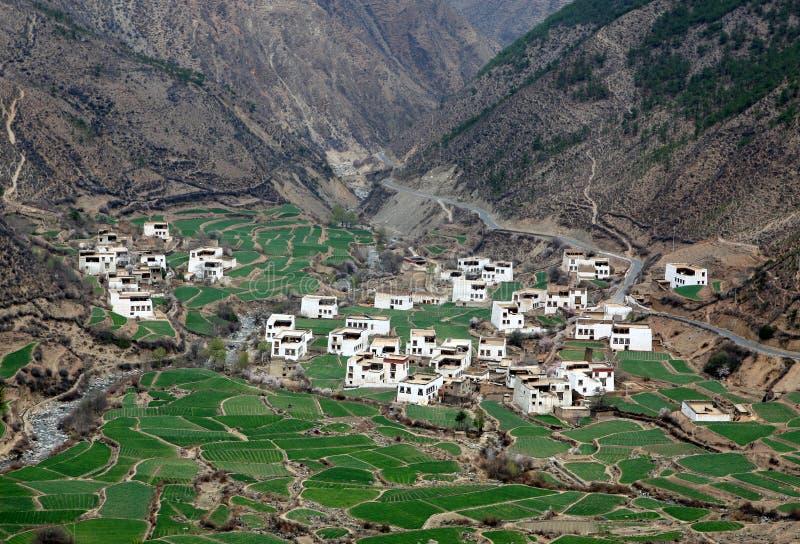 Tibet Village Royalty Free Stock Image