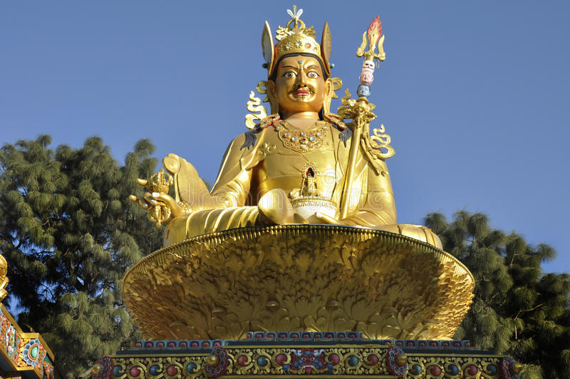 Tibetaanse Boedha royalty-vrije stock foto
