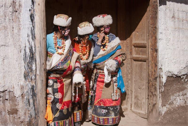 Tibetan Boeddhisme stock foto