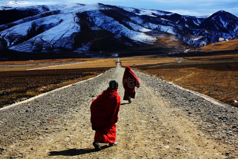 Tibetan Buddhism stock photography