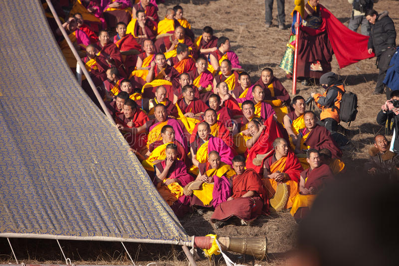 Download Tibetan Buddhism editorial photo. Image of gansu, religion - 22474401