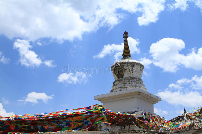 Download Tibetan buddhism tower stock image. Image of lama, china - 27142077