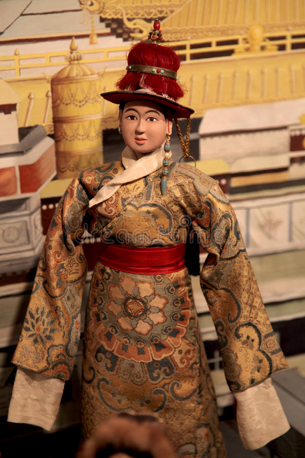 Tibetan doll royalty free stock images