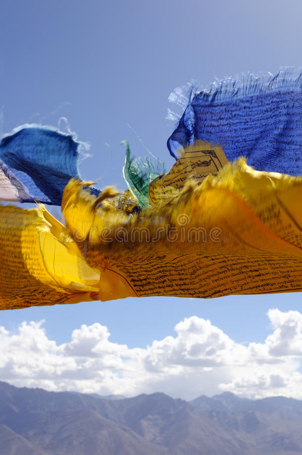 Free Tibetan Flags Royalty Free Stock Images - 14066789