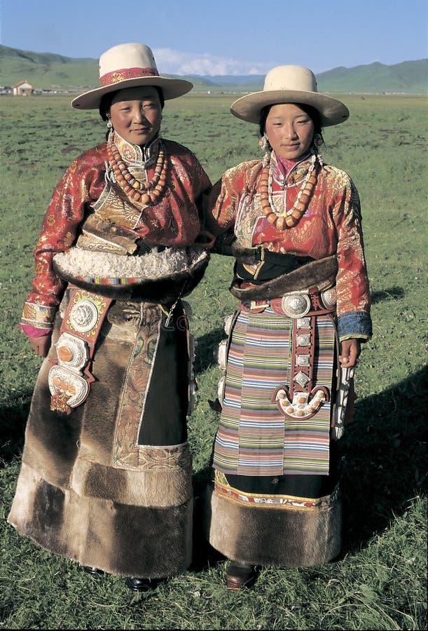 Tibetan herdsman royaltyfri foto