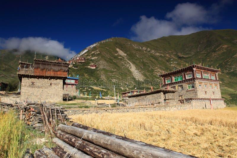 Download Tibetan house stock photo. Image of mountain, religious - 25573726