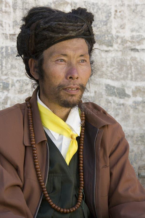 Download Tibetan Man - Gyantse - Tibet Editorial Photography - Image: 16221567