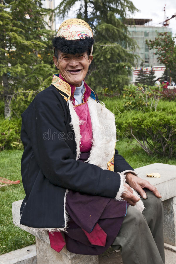 Download Tibetan Man In Yunnan Province Editorial Photography - Image: 20694102
