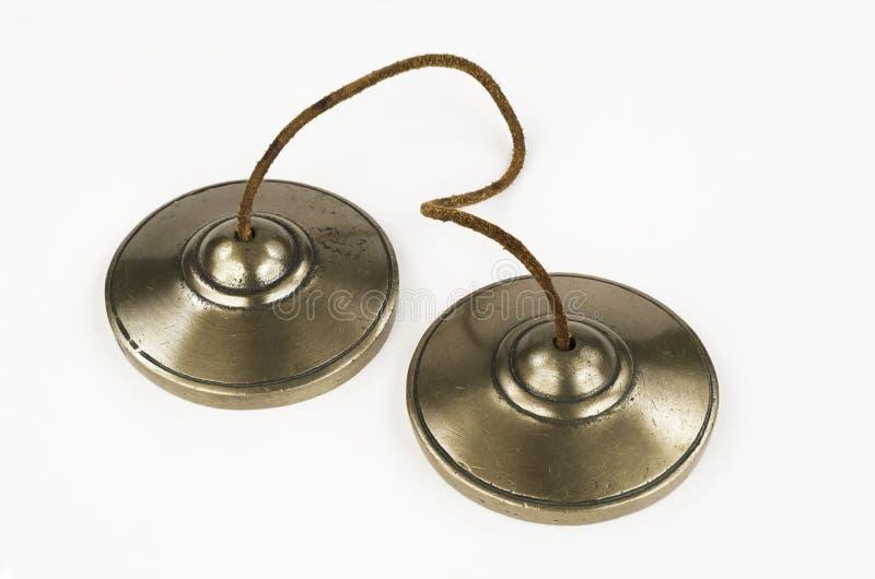 Tibetan Meditation Bells. stock image