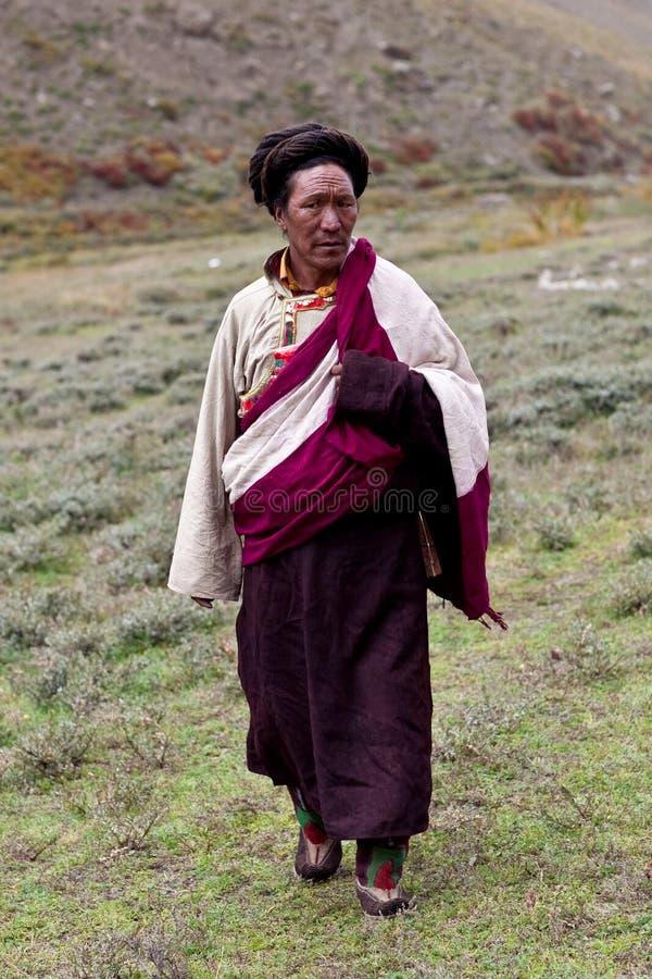 Download Tibetan nomad editorial stock photo. Image of journey - 27272728