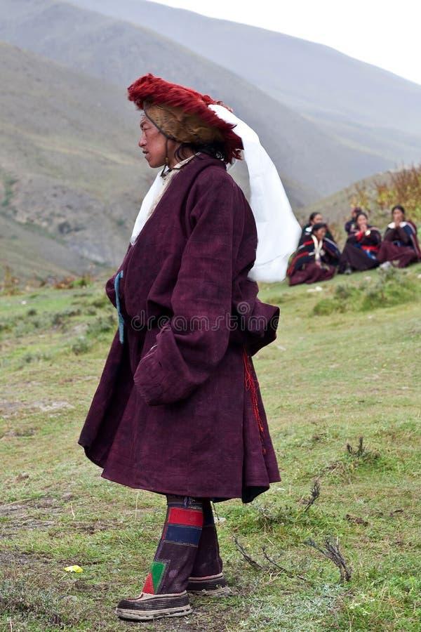 Download Tibetan nomad editorial image. Image of ornament, indigence - 27606595