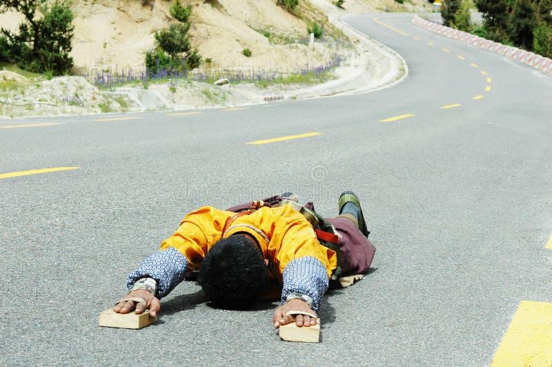 Download Tibetan pilgrim editorial stock photo. Image of human - 14501213
