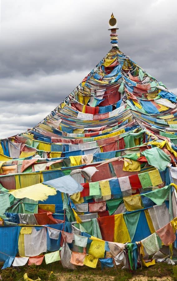 Download Tibetan Prayer Flags stock photo. Image of china, tepee - 20064534