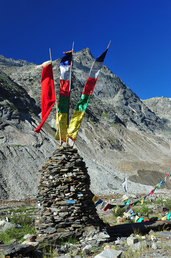Download Tibetan prayer flags stock photo. Image of religion, sacred - 26002738