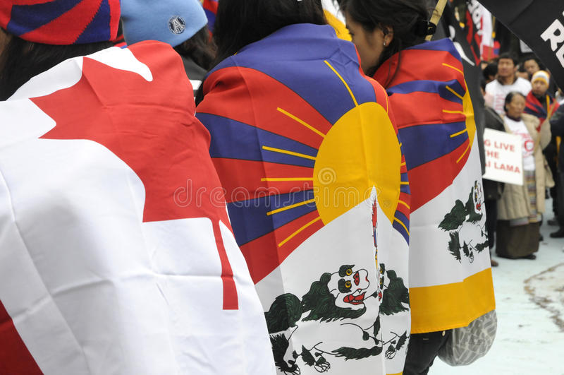 Download Tibetan Protest. editorial image. Image of buddhism, generation - 35583080