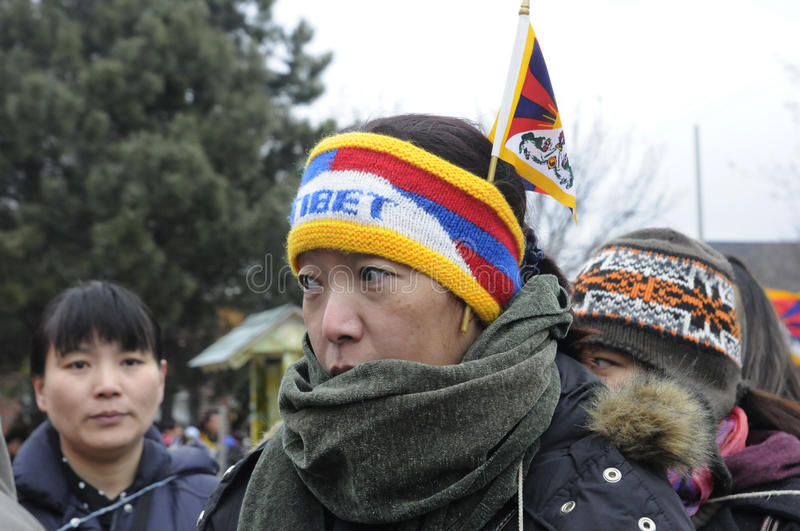 Download Tibetan Protest. editorial photo. Image of chinese, movement - 35583071