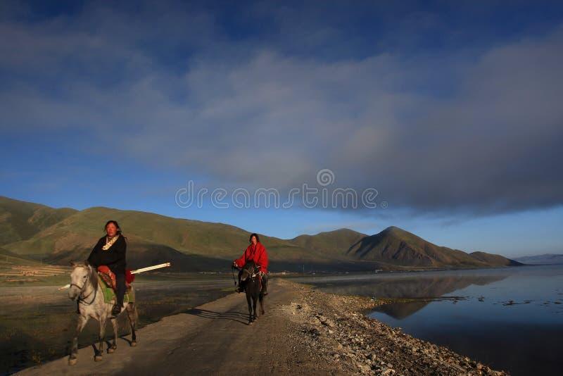 Tibetan Riders Editorial Stock Photo