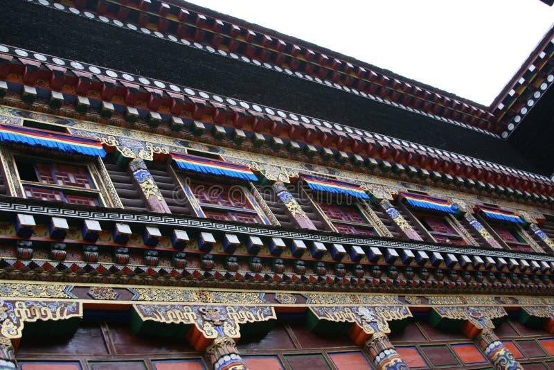 Tibetan stijl stock afbeelding