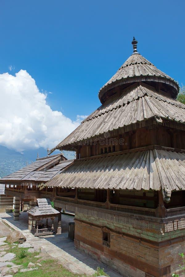 Tibetan tempel stock foto's