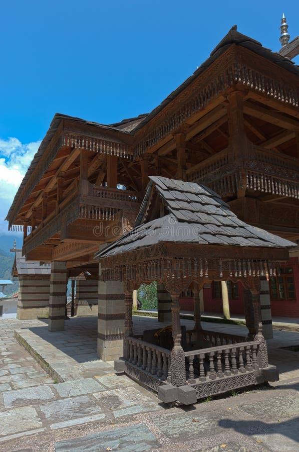 Tibetan tempel royalty-vrije stock afbeelding