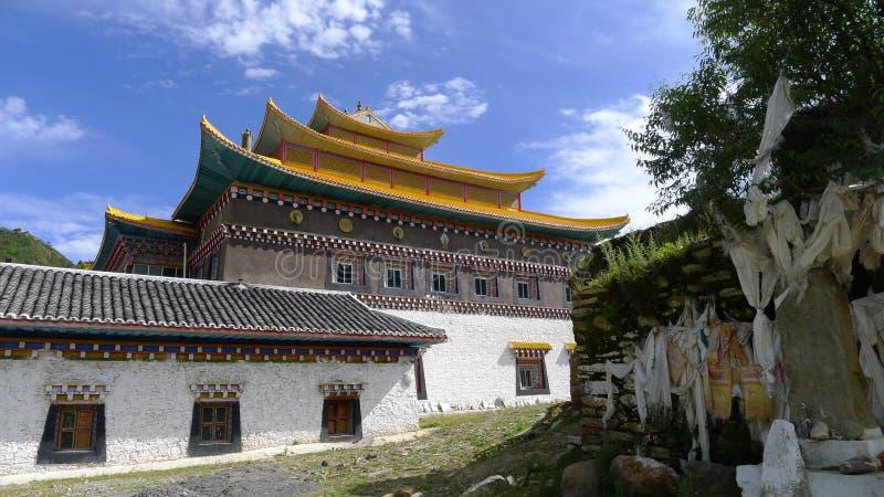 Tibetan Temple Royalty Free Stock Photography