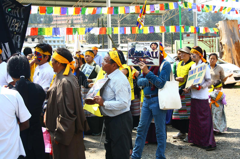 Download Tibetan Uprising Day Anniversary Celebration At Oo Editorial Stock Photo - Image: 29710928