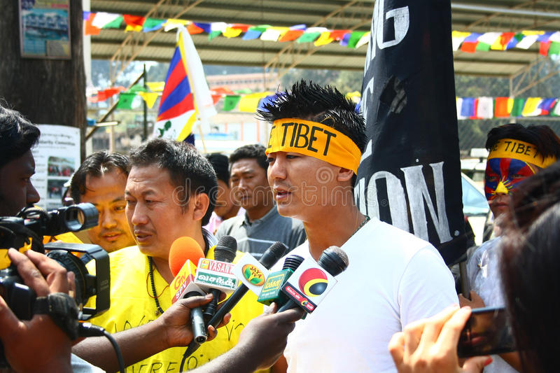 Download Tibetan Uprising Day Anniversary Celebration At Oo Editorial Stock Image - Image: 29710949