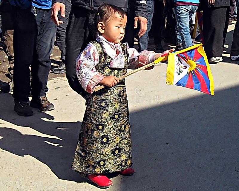 Tibetan Uprising Day Dharamsala India royalty free stock photo