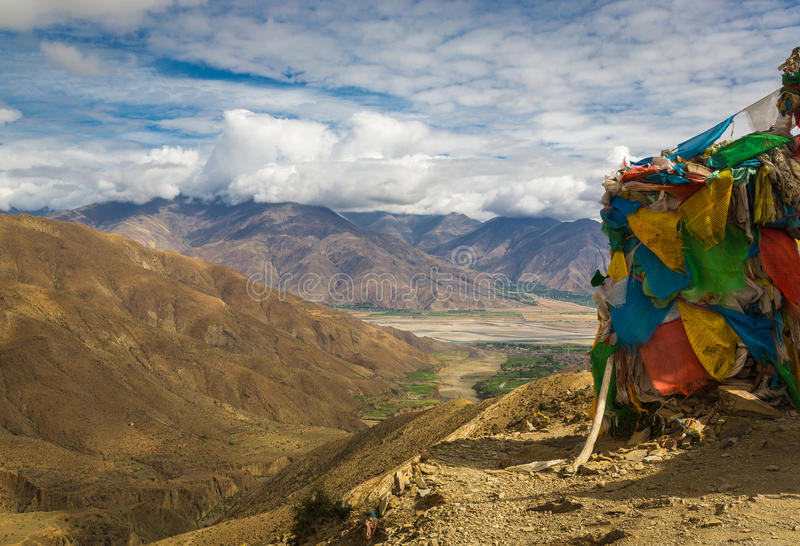 Tibetan Valley royalty free stock photo