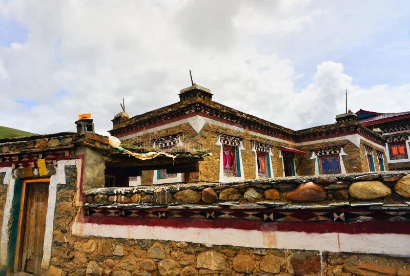 Tibetan village. There a Tibetan village at xiangcheng county, sichuan royalty free stock image