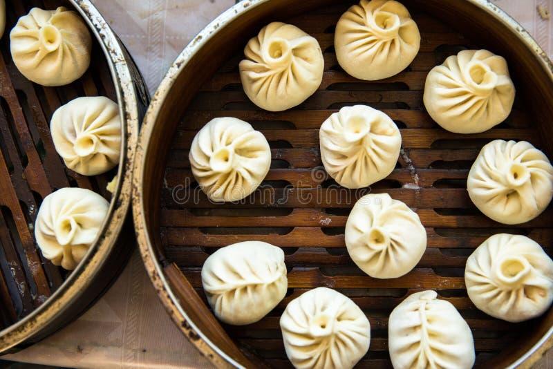 Tibetan Yak Meat Dumplings stock photos