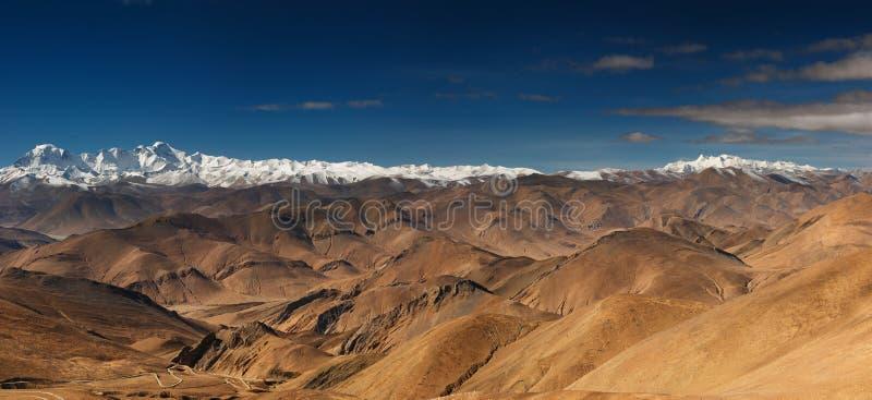 tibetana högland royaltyfri bild