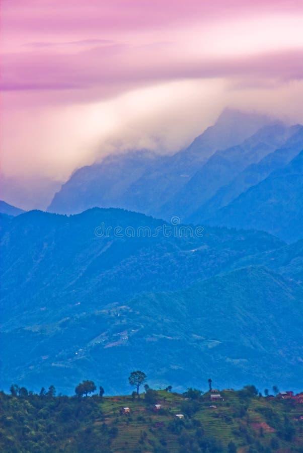 Tibetanische Landschaft stockbilder