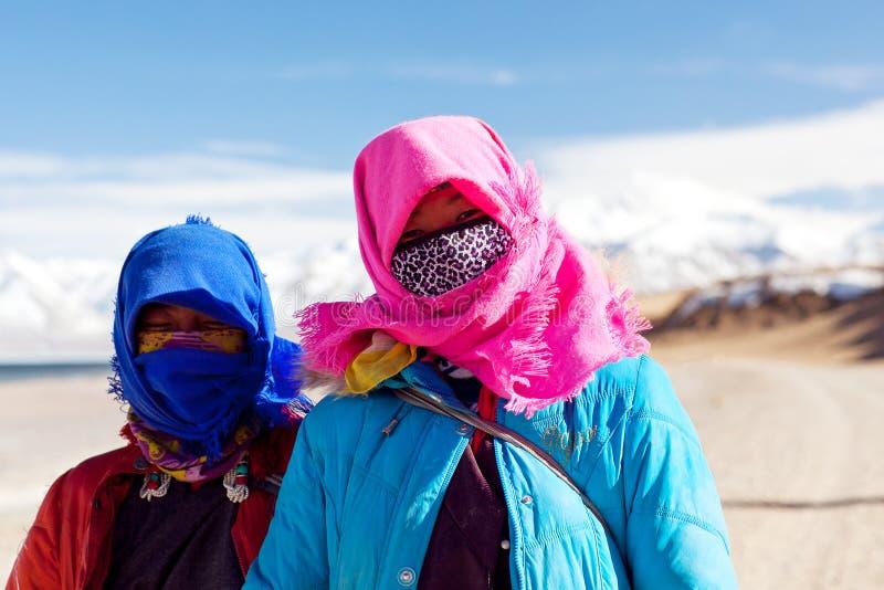 Tibetanische Leute lizenzfreie stockfotos