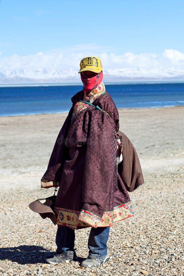 Tibetanische Leute stockfotos