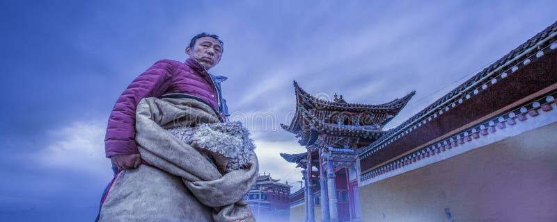 tibetans royalty-vrije stock afbeeldingen