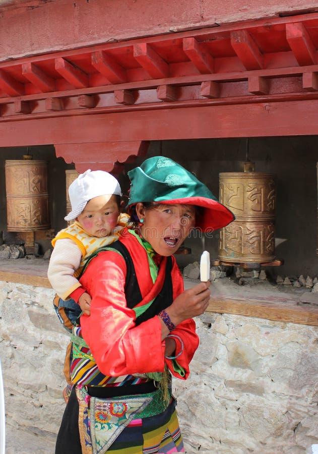 Tibetant obraz stock