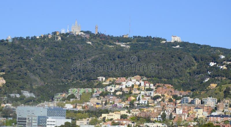 Tibidabo, Barcelona, Spain imagem de stock royalty free