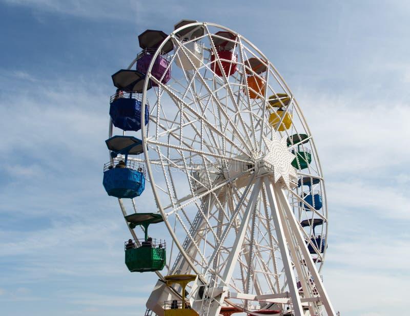 Tibidabo Ferris Wheel fotografering för bildbyråer