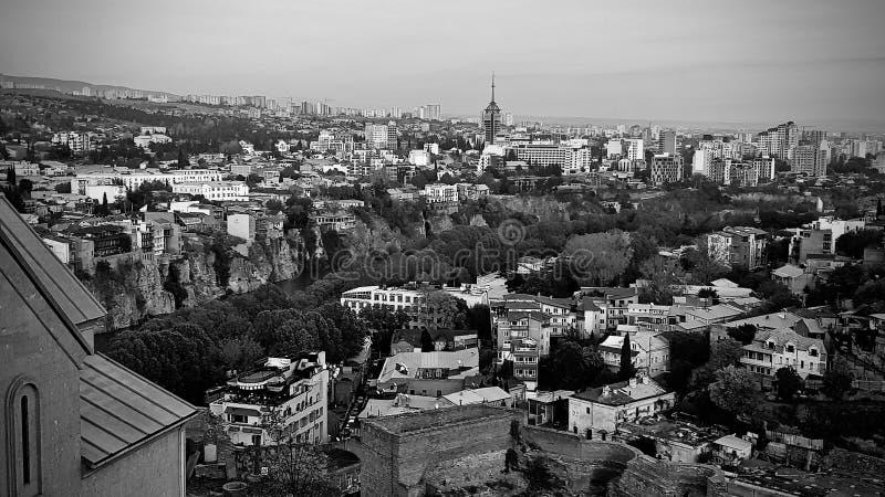 Tibilisi - stad i Georgia fotografering för bildbyråer
