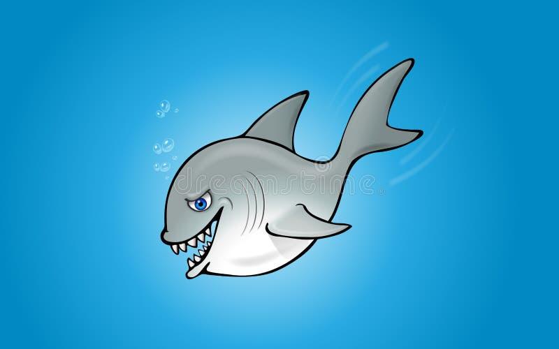 Tiburón - Aislado Fotografía de archivo