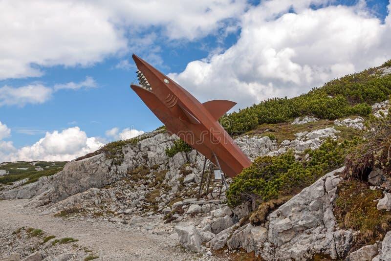 Tiburón de Dachstein fotografía de archivo libre de regalías