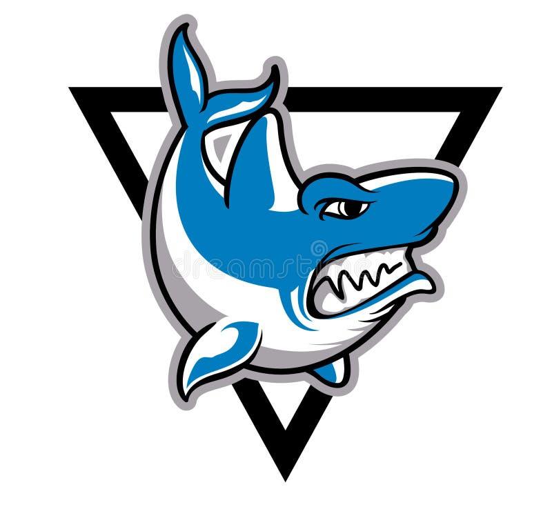Tiburón del asesino stock de ilustración