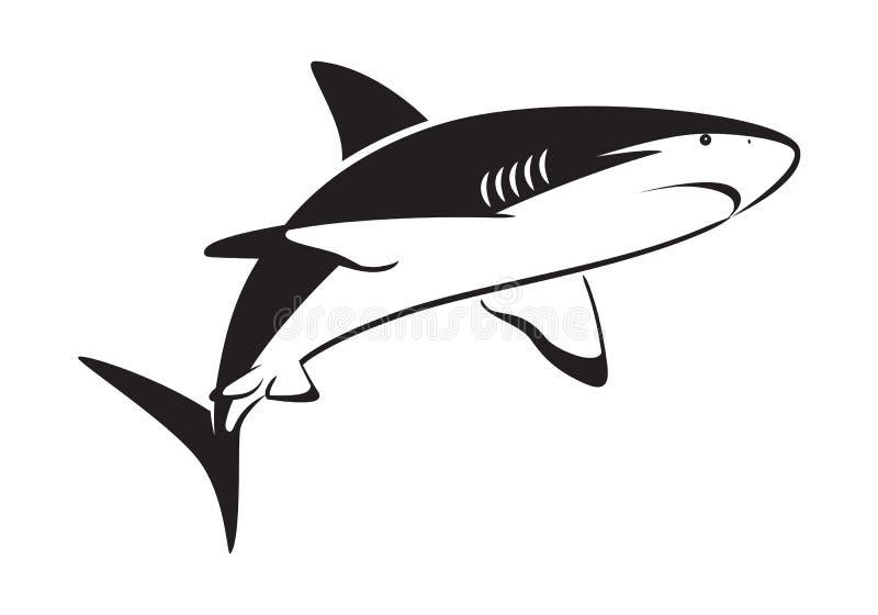 Tiburón gráfico libre illustration