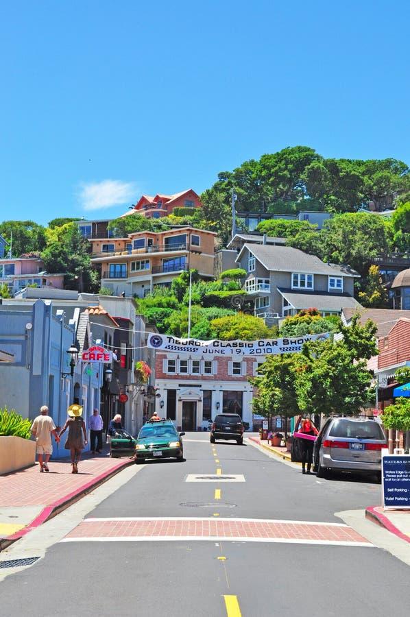 Tiburon, Californië, de Verenigde Staten van Amerika, de V.S. royalty-vrije stock afbeelding