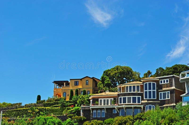 Tiburon San Francisco, Kalifornien, Amerikas förenta stater, USA arkivfoton