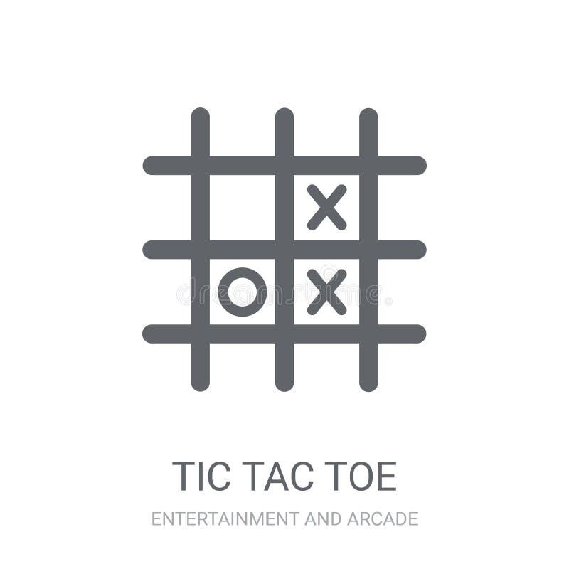 Tic TAC脚趾象  库存例证